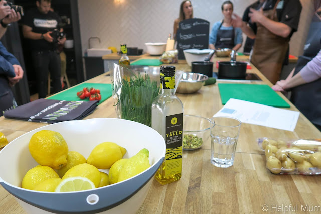 Cookery class John Whaites kitchen