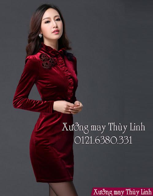 May váy dạ hội đẹp ở Hà Nội