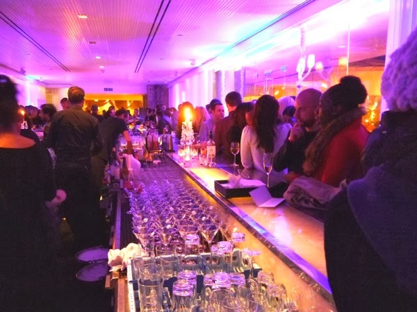 PPQ London Fashion Week afterparty at the Sanderson hotel long bar