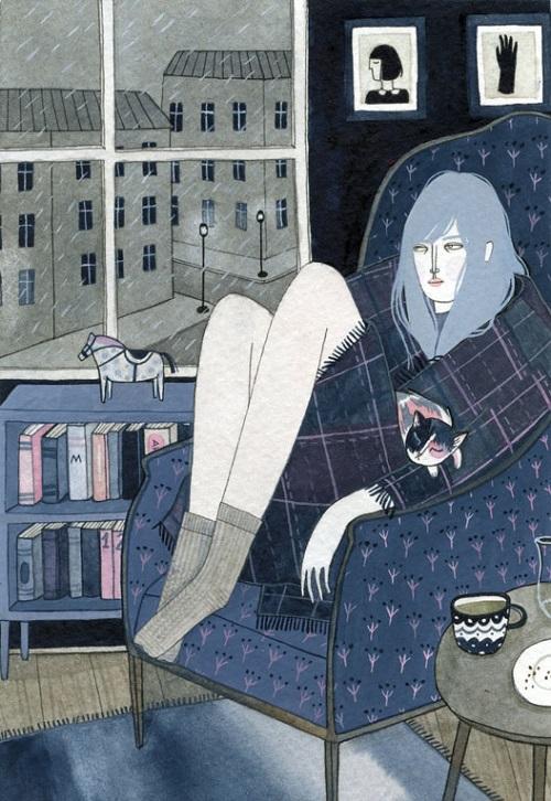 """""""Rainy Day"""" por Yelena Bryksenkova"""