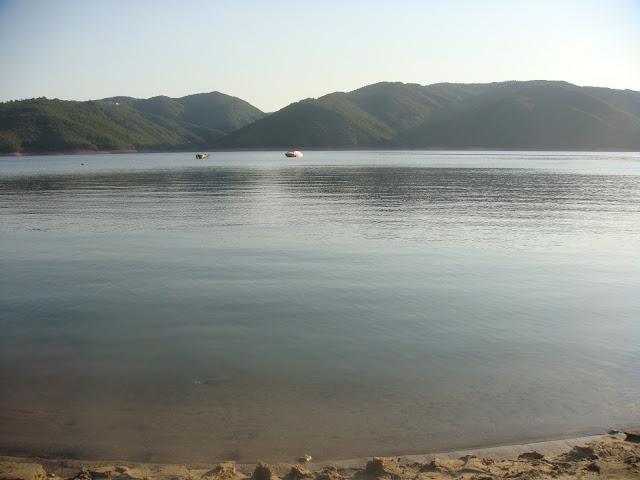 Kırcaali Glavatartsi'deki Kırcaali Baraj Gölü