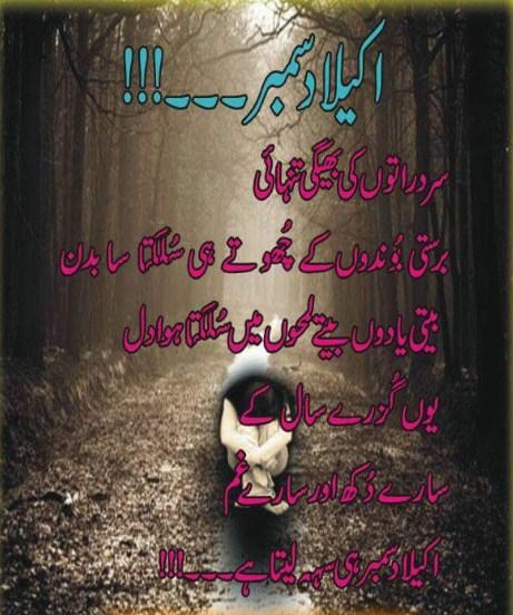 Urdu Poetry | Urdu Sad Poetry | December Sad Poetry | December Ghazal | December Sad Ghazal | Tanhai Poetry - Urdu Poetry World,Urdu poetry about death, Urdu poetry about mother, Urdu poetry about education, Urdu poetry best, Urdu poetry bewafa