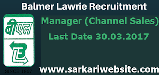 Manager (Channel Sales)