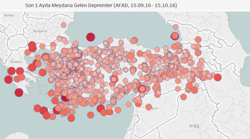 Tableau Ile Türkiyenin Interaktif Haritasını çıkarmak