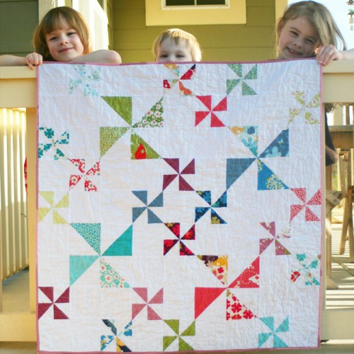 Windy Days Quilt - Free Pattern + Tutorial