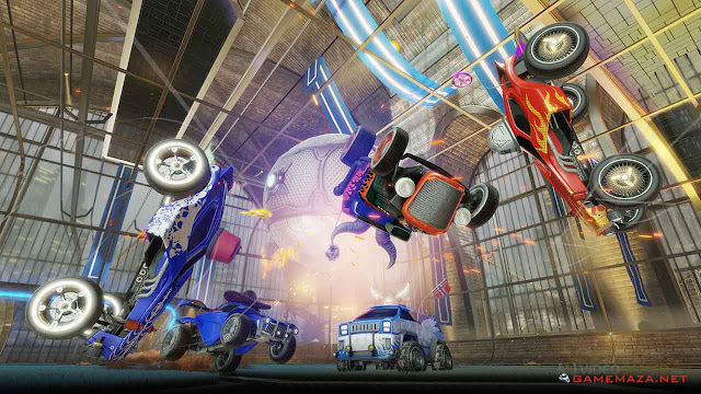 Rocket League Revenge of the Battle Cars Gameplay Screenshot 2
