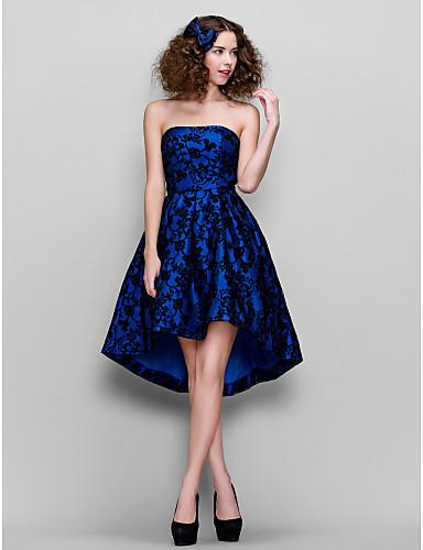 vestidos de XV años azules cortos