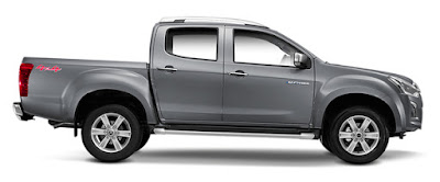 Isuzu D-Max X-Series side look