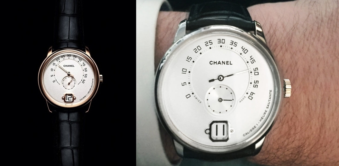a72a2c52a9a Reberth Fiorezzo  O primeiro relógio masculino da Chanel.