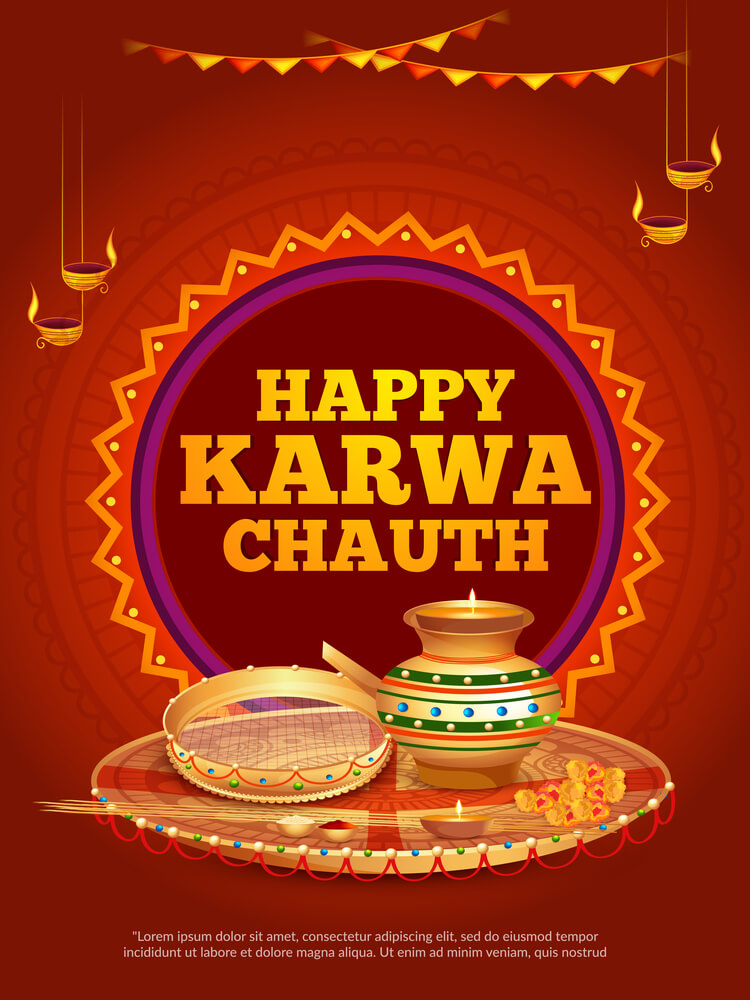 Happy Karva Chauth Images.