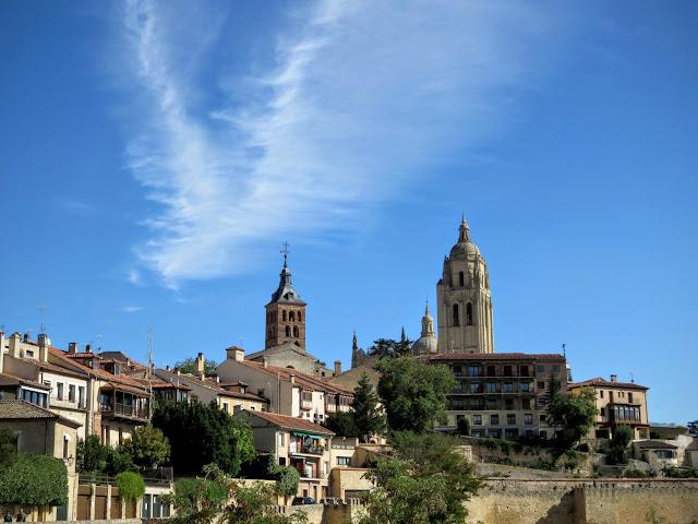 Views of Segovia from the Alcazar