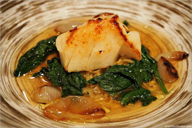 Plato del Menú del Restaurante Pabu de la Boston Dine Out de Marzo 2018