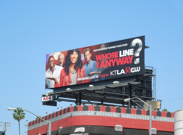 Whose line is it anyway billboard
