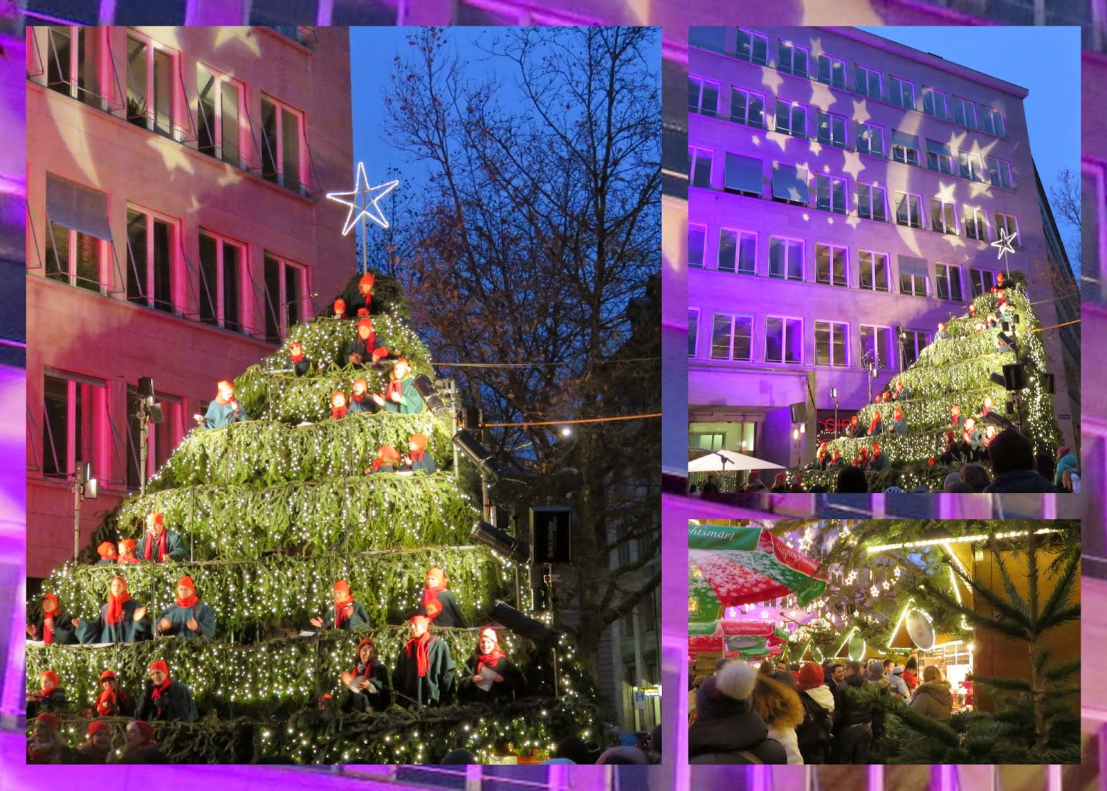 Winter in Zurich - Singing Christmas Tree Market