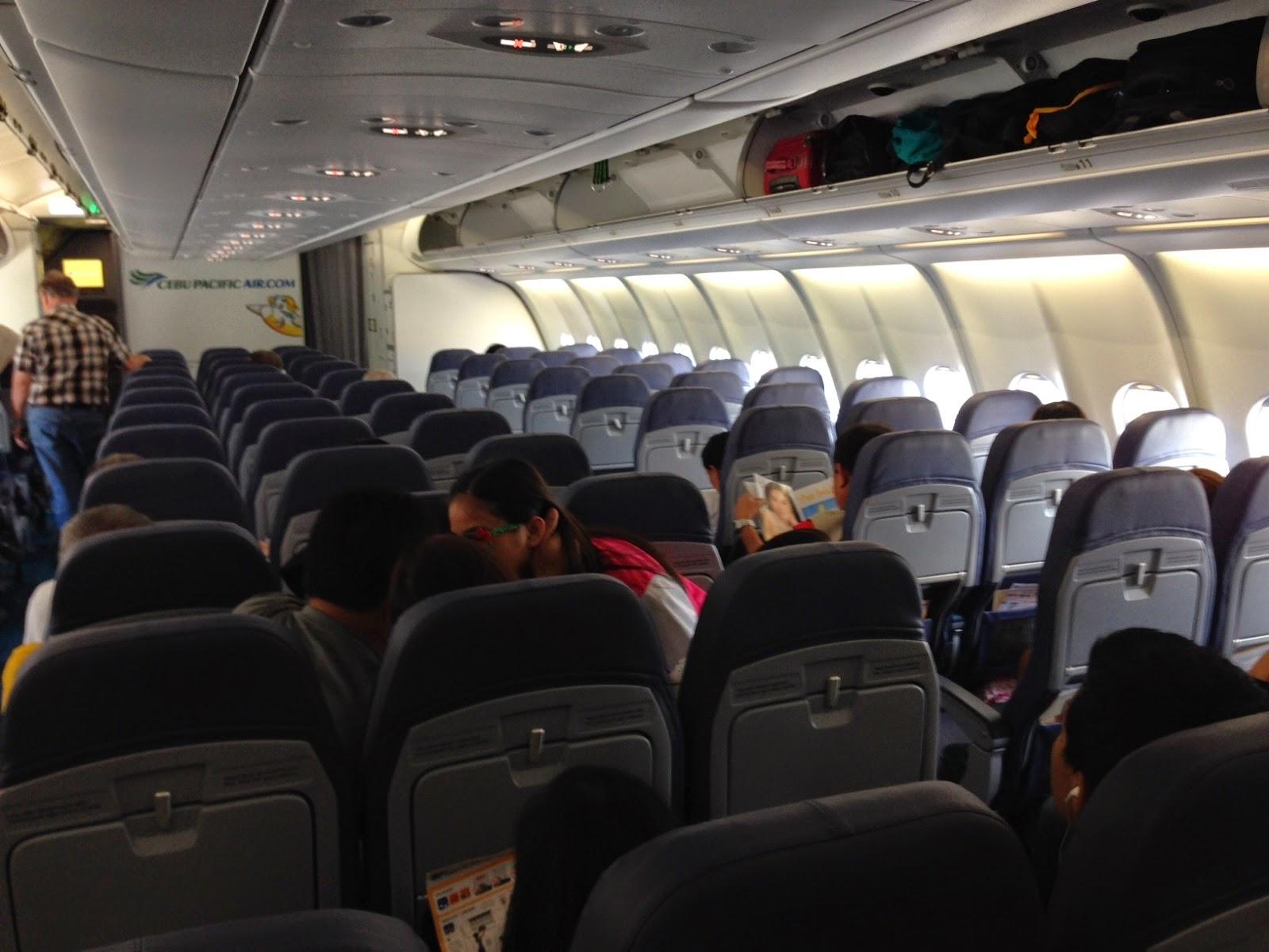 Cebu Pacific A330 Cabin