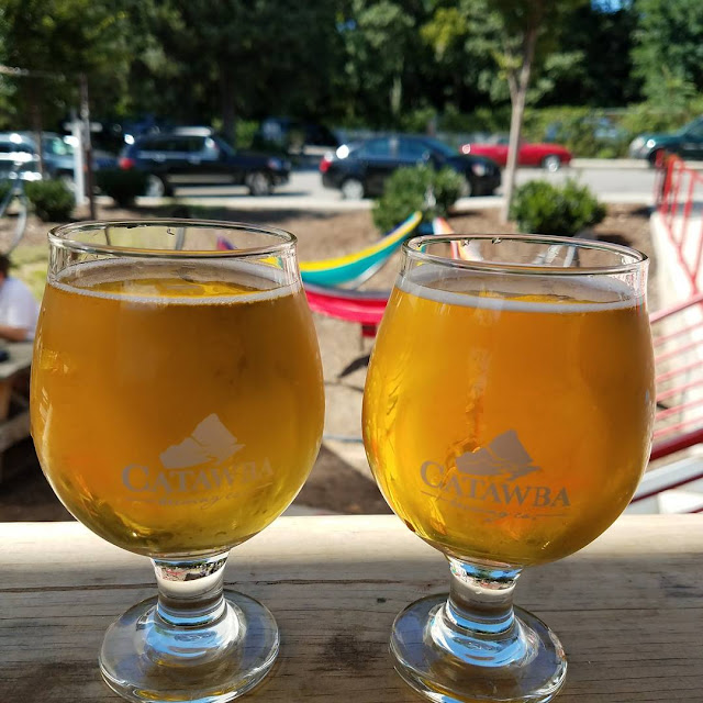 Beer at Catawba Brewery