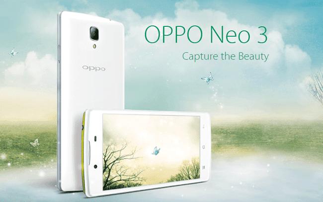 Stock Firmware OPPO Neo 3 R831K