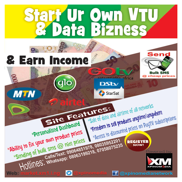 start online trading, make money online, bitcoin, bulksms, airtime vtu, Your Business, Xpino Media, Nigeria, Cheapest Data, Internet, Publicity, Sponsored Post, affordable data plans, vendor, profit, income, online business, XpinoMarket, wholesale prices, Bulk sms,