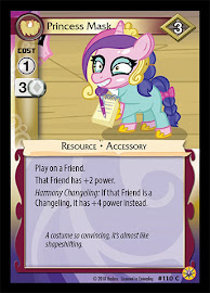 My Little Pony Princess Mask Friends Forever CCG Card