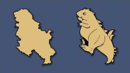 Serbia illustration