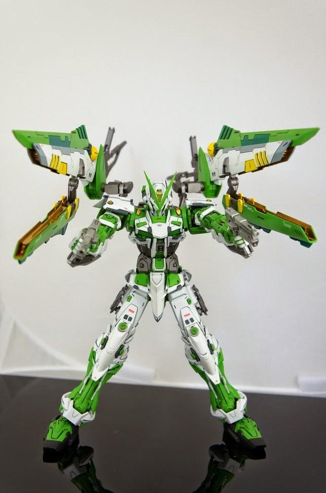Custom Build 1 100 Gundam Astray Green Frame Mars Sobeck