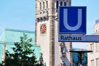 Hamburg Zentrum Rathaus