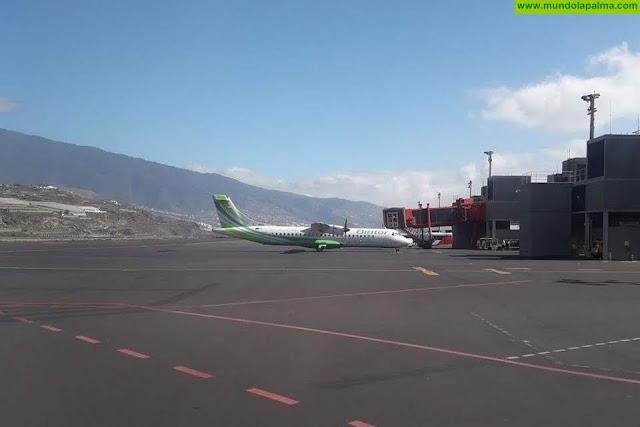 Binter mantiene en septiembre la conexión directa entre La Palma y Fuerteventura