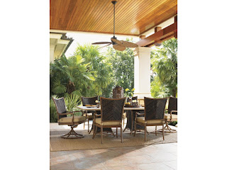 outdoor entertaining with Tommy Bahama Furniture