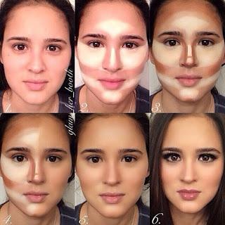 Tips dan Cara Make Up Natural untuk Wajah Bulat agar Terlihat Lebih Tirus.