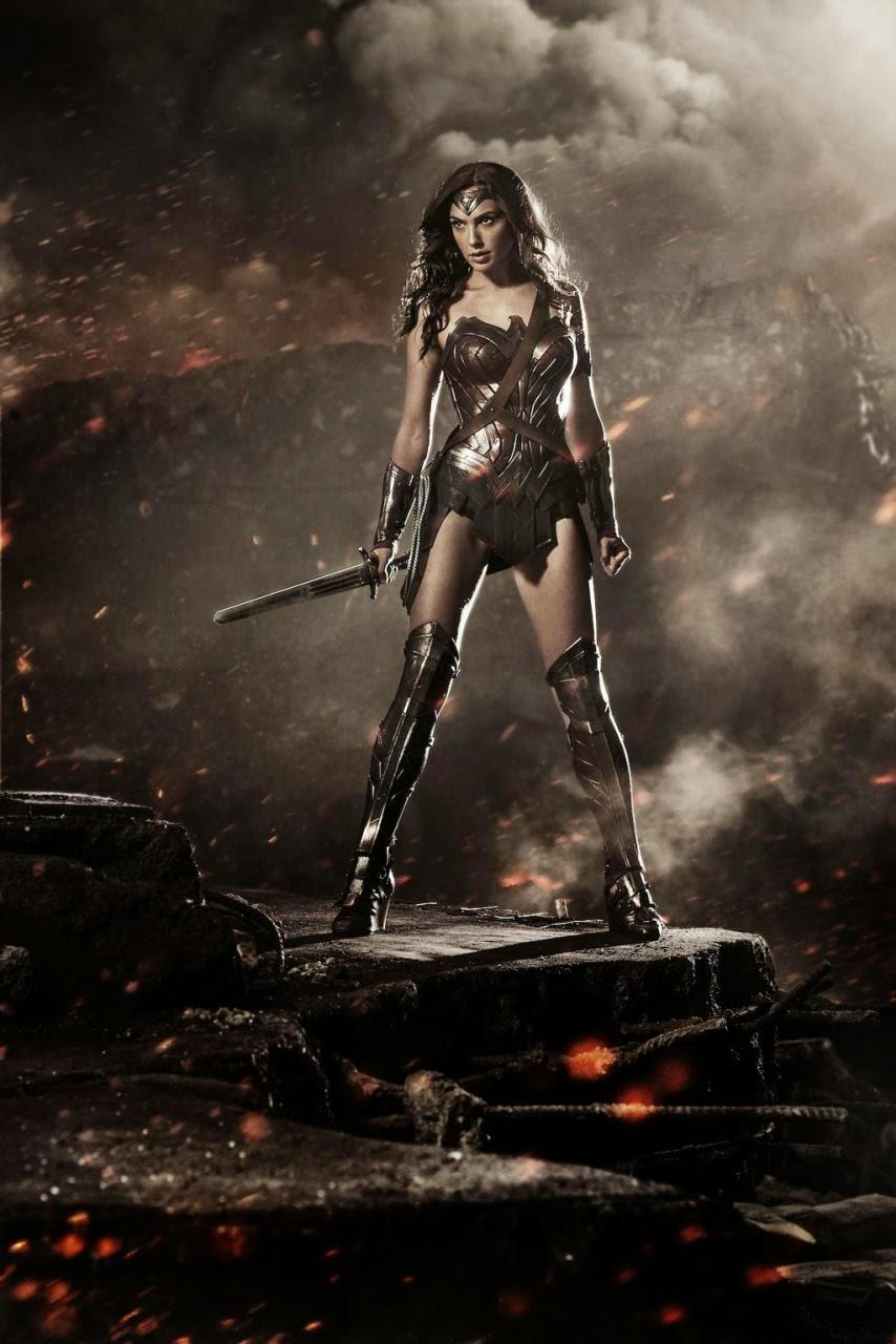 "Das ist Wonder Woman in ""Batman v Superman: Dawn of Justice"""