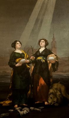 Santas Justa y Rufina - 1817 -Francisco de Goya - Catedral de Sevilla