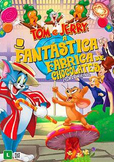 Tom e Jerry: A Fantástica Fábrica de Chocolates - HDRip Dual Áudio