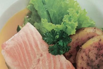 Resep dan Cara Memasak Salmon Grilled Saus Lemon
