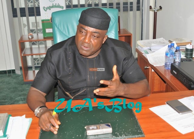 Breaking: Reps Minority Leader, Leo Ogor Resumes Plenary After 6-Month Absence