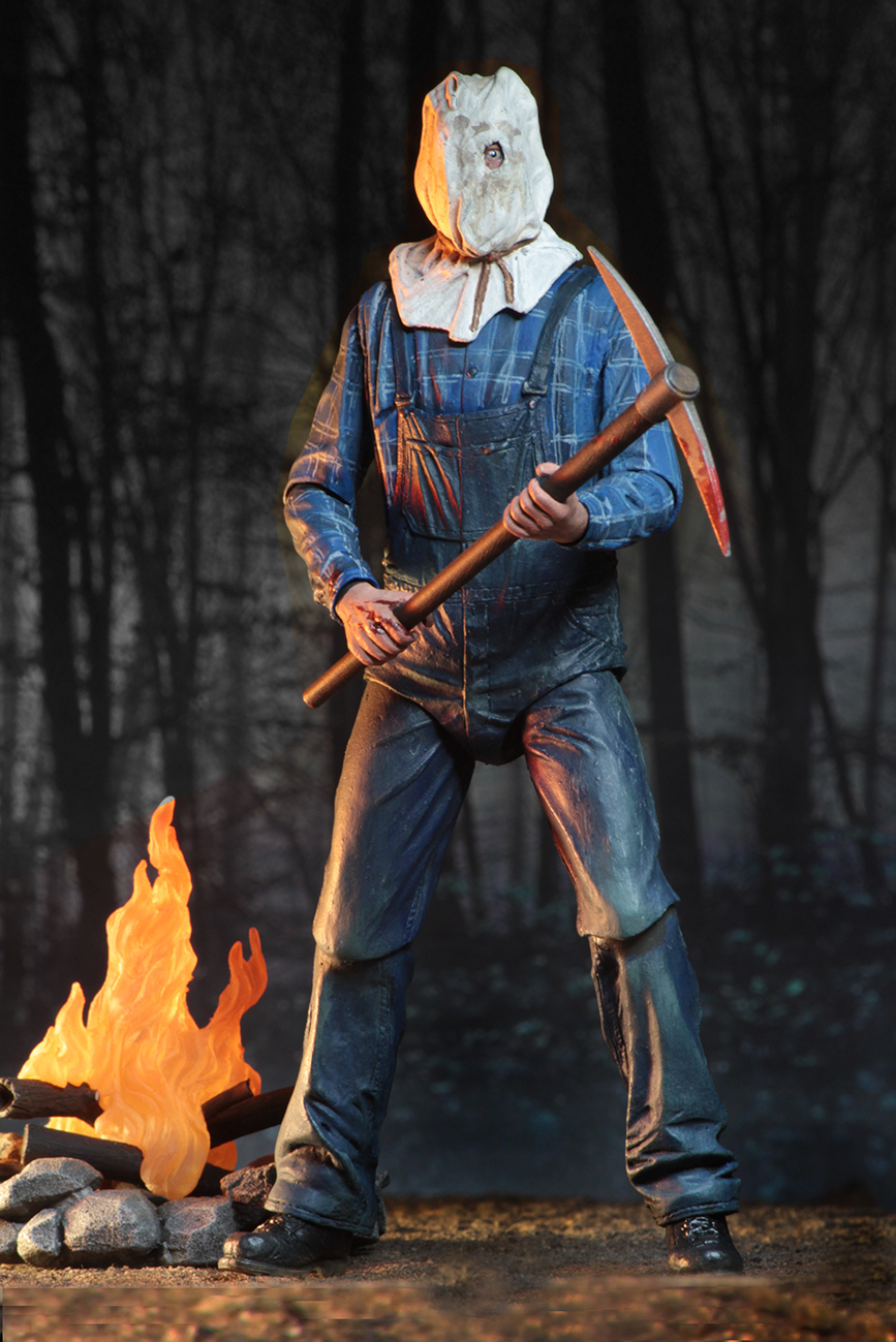 """Neca Friday the 13th Part 2 Ultimate Jason 7"""" Action Figure"""