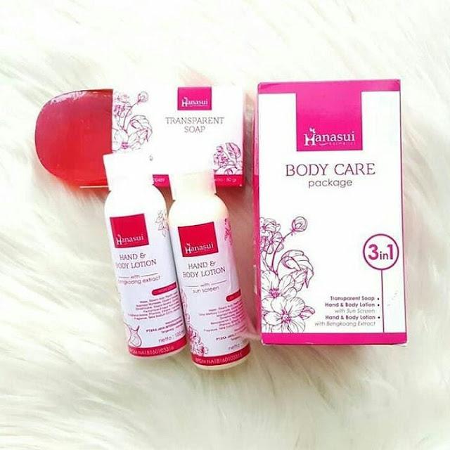 Hanasui Body Care Untuk Perawatan Kulit Secara Maksimal