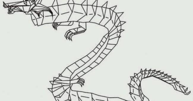 Dragon Origami Diagram Paper Origami Guide