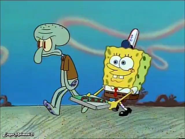 SpongeBob Season 1 Episode 5A - Pizza Delivery SD 480p Dub Indo