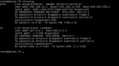 Cara Konfigurasi IP Address Debian 8 (Jessie)