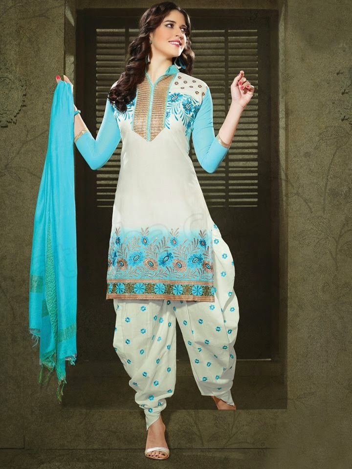 Stylish And Latest Patiala Suits For Young Girls 2015 By ...