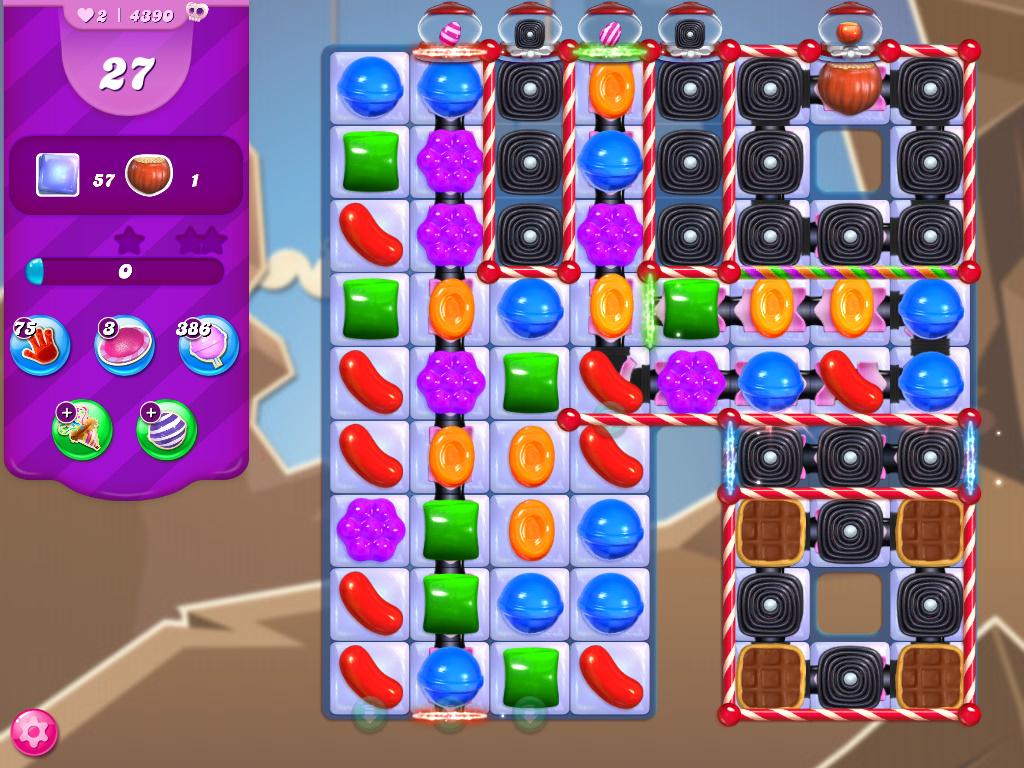 Candy Crush Saga level 4390