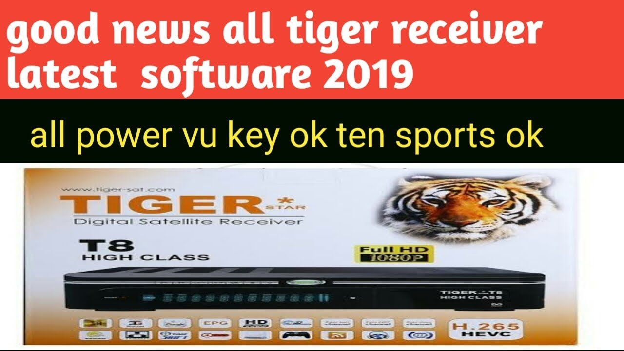 All Update Tiger Receiver Software Download 2019