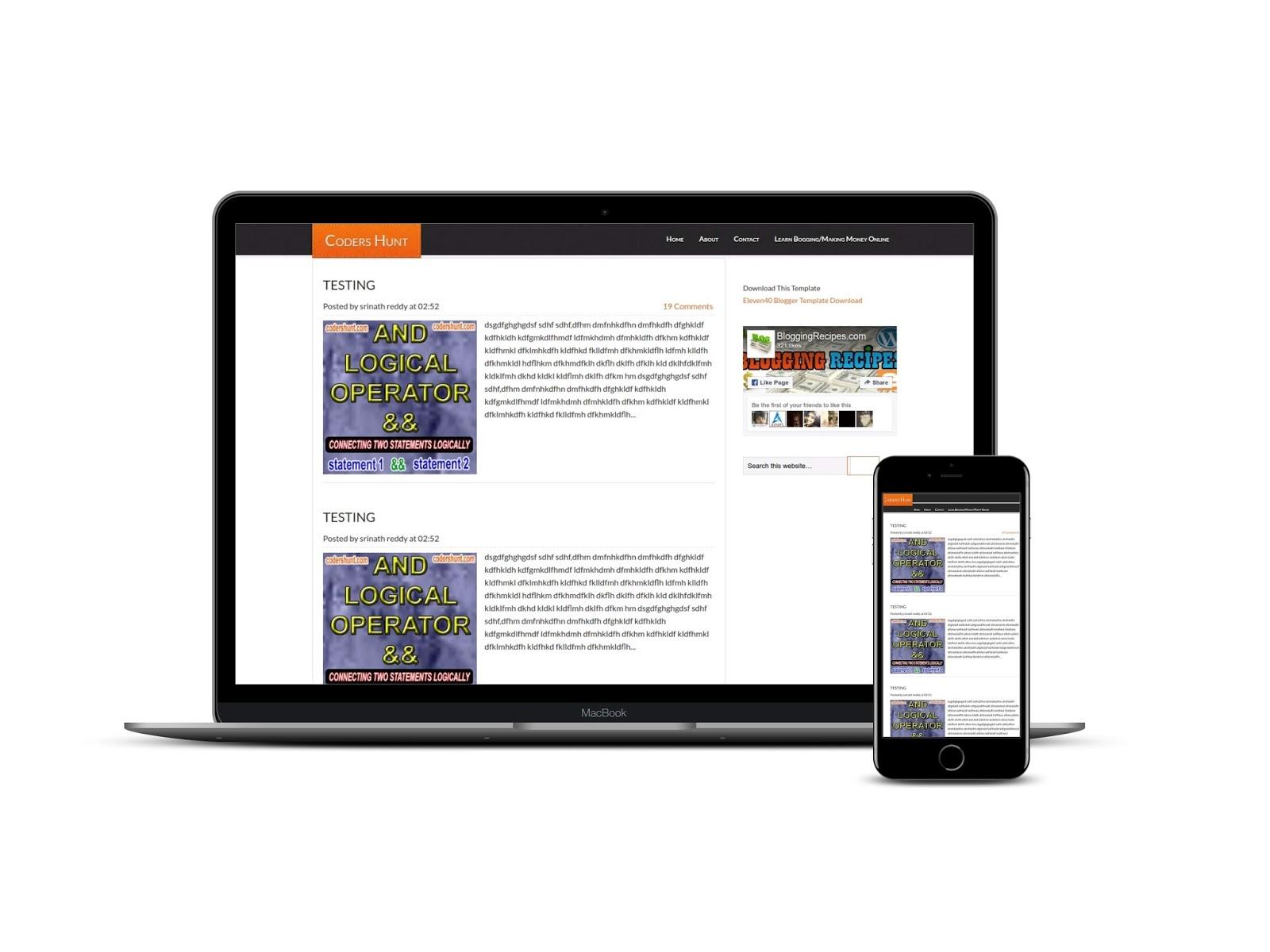 wallpaper blogger template gallery template design ideas