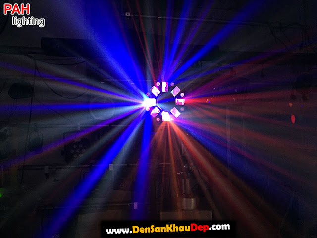Hiệu ứng đèn led laser LELA cảnh 1