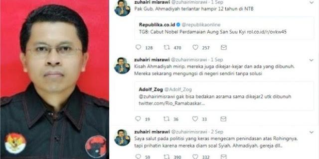 Astaghfirullah! Zuhairi Misrawi: Ahmadiyah Mungkin Ada Benarnya, Islamnya Muhammadiyah Udah Pasti Gak Bener