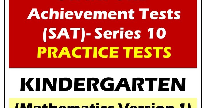 Mister Dee's Teaching Resources (SAT-10 Practice Tests ...