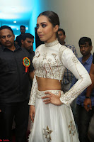 Catherine Tresa in Beautiful emroidery Crop Top Choli and Ghagra at Santosham awards 2017 curtain raiser press meet 02.08.2017 130.JPG