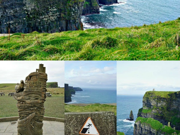 Visiting the Cliffs of Moher - Ireland