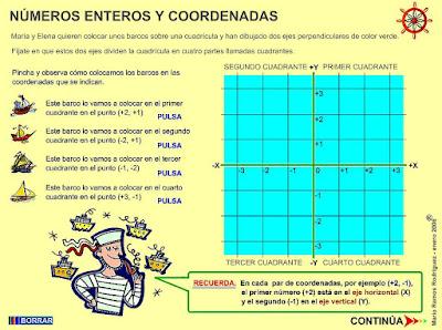 http://www3.gobiernodecanarias.org/medusa/eltanquematematico/todo_mate/numenteros/coordenadas/coordenadas_p.html