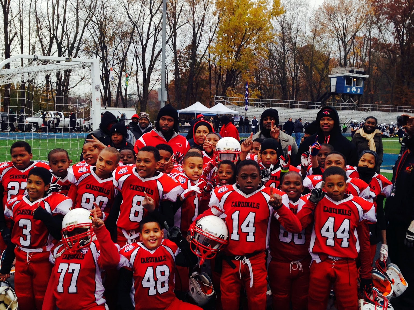 Plainfield Cardinals Junior Pee Wee Division Advances to Regional  Semi-Finals. POP WARNER ... 9792b8ace
